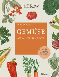 Buchcover Gemüse – Anbau, Pflege, Ernte