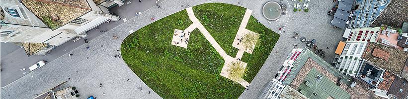 Heinrich Gartentor. Foto: Peter Baracchi; Stadt Zürich, Kunst im öffentlichen Raum (KiöR)