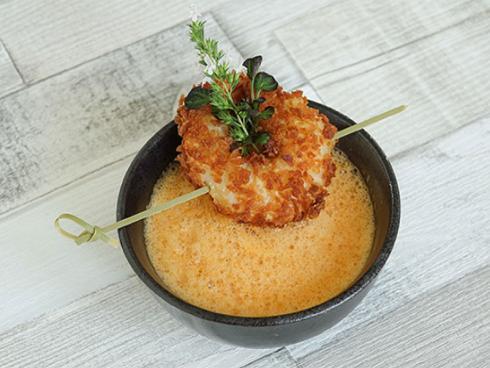 Bild Picturegarden  Rohner: Mit Yacon lassen sich feine Gerichte herstellen, zum Beispiel ein Yacon-Thaycurry-Süppchen.
