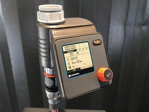 Bild garten.ch: Bewässerungscomputer unterstützen bei der Wasserversorgung der Pflanzen.