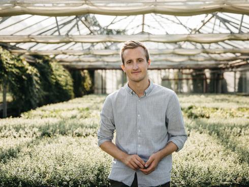 Foto: Helix. - Architekt Jonathan Müller von Helix Pflanzensysteme