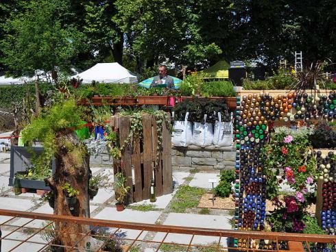 Bild garten.ch: Installationen der Lernenden zum Thema Urban Gardening