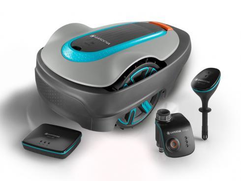 Bild GARDENA: GARDENA smart systems ist ein Gesamtkonzept das Mähroboter, Sensoren, Pumpen und weitere Geräte einbindet.
