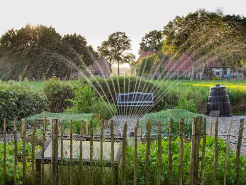 Bild Skitterphoto from Pexels: Mit heissen trockenen Sommern bekommt die Bewässerung eine neue Bedeutung