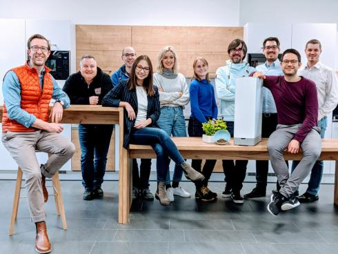 Bild Kalea: Entwicklungsteam in Stuttgart