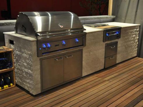 Outdoor Küchen Ausstellung : Vom offenen feuer zur outdoor küche gartenküchen garten