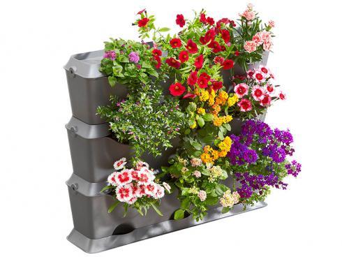 Bild Gardena: NaturUp! Modulares System für vertikale Gärten.