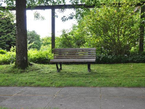 Bild garten.ch: Ein Park weckt die Erwartung, dass es hier ruhig sei.