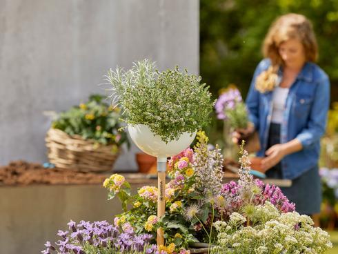 Bild Gardena: Gartenlifestyle mit dem neuen Clicksystem