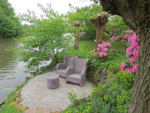 Bild garten.ch: Für einen Rückzugsort genügt eine kleine Gartenfläche.