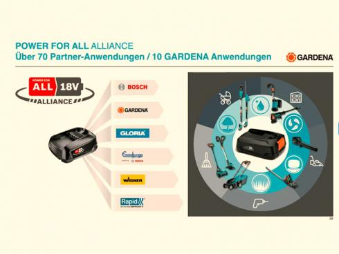 Bild Gardena: Power for All Alliance