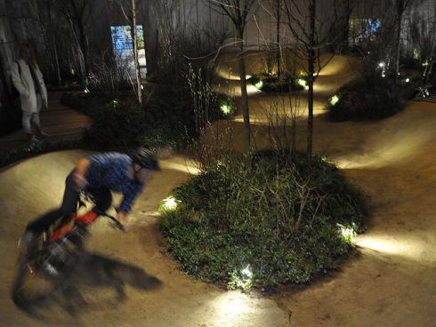 Bild: garten.ch Pumptracks als Bewegngsorte mit Bike, Skateboard oder Microscooter