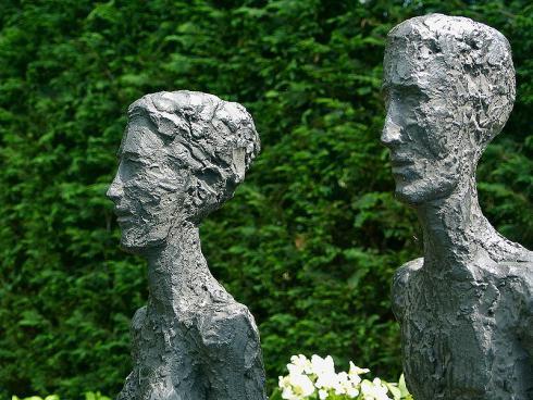 Bild: Giardina 2016 Gartenromantik Skulpturen