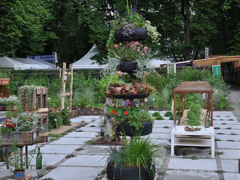 Bild garten.ch: Nach der Ausstellung bleibt der experimentelle Garten erhalten.