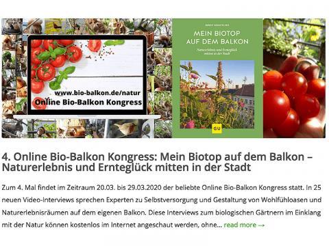 Online Bio-Balkon Kongress