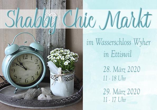 Shabby Chic Markt - Wasserschloss Wyher