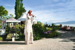 Stimmungsvolle Atmosphäre bei den Gartentagen Lindau